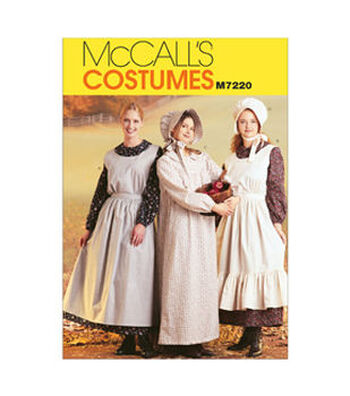 McCall's Pattern M7220-Misses' Pioneer Costumes