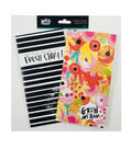 Illustrated Faith \u0022She Blooms\u0022 Travelers Notebook