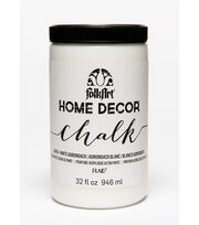 Folkart Home Decor Chalk 32oz-White Adirondack, , hi-res