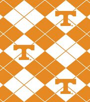 "University of Tennessee Volunteers Fleece Fabric 58""-Argyle, , hi-res"