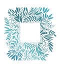 Couture Creations Le Petit Jardin 3.5\u0027\u0027x4\u0027\u0027 Hotfoil Stamp-Wild Frame