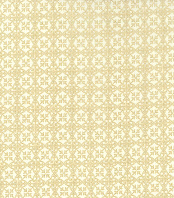 St. Patrick's Day Cotton Fabric -Celtic Medallions Cream