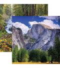 National Parks Double-Sided Cardstock 12\u0022X12\u0022-Yosemite