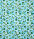 Novelty Cotton Fabric-Happy Turtles