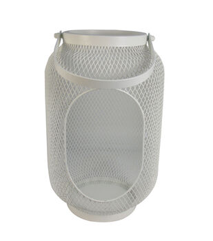 Seaport Small Metal Canister-Cream