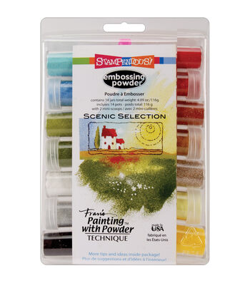 Stampendous Embossing Powder Selection Scenic Multi Color