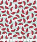 Snuggle Flannel Fabric-Watermelon