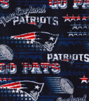 New England Patriots Fleece Fabric -Retro, , hi-res