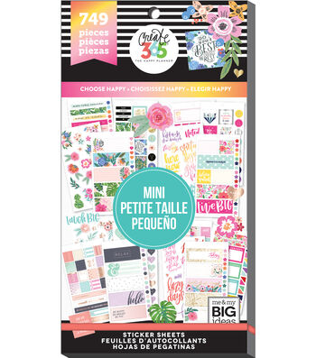 The Happy Planner Mini Stickers-Choose Happy