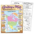 Reading a Map Learning Chart 17\u0022x22\u0022 6pk