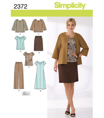 Simplicity Pattern 2372BB 20W-28W -Simplicity Misses