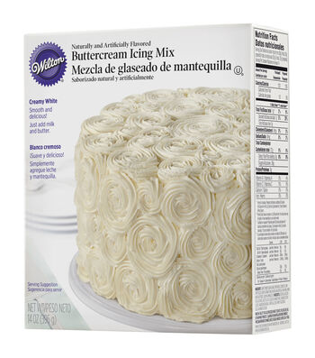Wilton Creamy White Buttercream Icing Mix