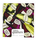 Fabric Quarters Cotton Fabric 18\u0022-Assorted Wine