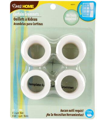 Prym Dritz Home Curtain Grommets 1'' White