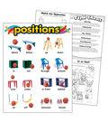 Positions Learning Chart 17\u0022x22\u0022 6pk