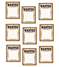 Western Wanted Posters Accents 30/pk, Set Of 6 Packs