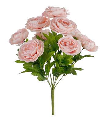 Fresh Picked Spring 18'' Ranunculus Bush-Pink