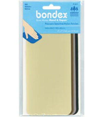 "Wrights Bondex Nylon Repair Fabric Kit-3""x7"" 4/Pkg"