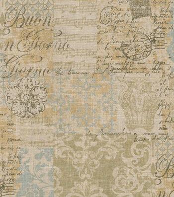 "Waverly Multi-Purpose Decor Fabric 54""-Documented Vermeil"