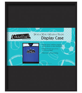 MCS Industries Collector's Museum Display Case 24''x30''-Black