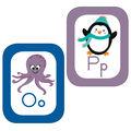 Just Teach Alphabet Cards Bulletin Board Set