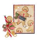 Spellbinders Shapeabilities Etched Dies-Gingerbread Boy Garland Tag