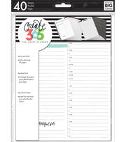 The Happy Planner Daily Fill Paper, , hi-res