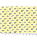 Nursery Flannel Fabric -Dream Big Mini Elephant