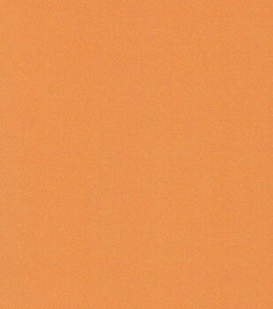 Witching Hour Satin Fabric -Solid Orange