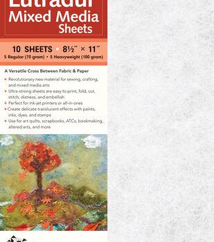 Lutradur 10 pk 8.5''x11'' Mixed Media Sheets