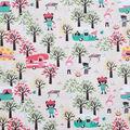 Novelty Cotton Fabric 43\u0027\u0027-Woodland Campers