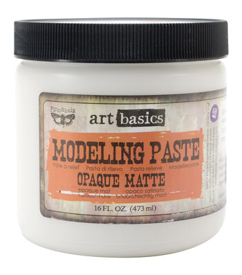 Opaque Matte-Art Modeling Paste 16 Oz