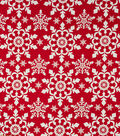 Home Essentials Home Décor Fabric-Snowflake Holiday