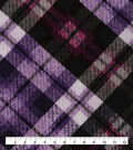 Keepsake Calico Cotton Fabric-Purple Distressed Plaid