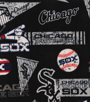Chicago White Sox Fleece Fabric-Vintage, , hi-res