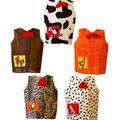 Toddler Animal Dress-Up Set, Set of 5
