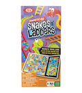 Ideal Magnetic Go Snakes N\u0027 Ladders Travel Game