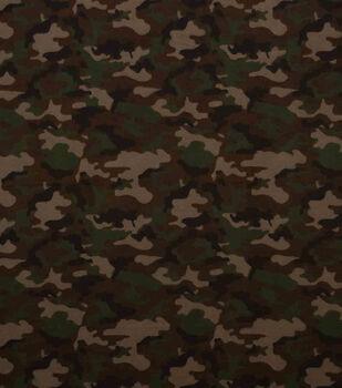 Super Snuggle Flannel Fabric-Traditional Camo
