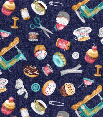Premium Prints Cotton Fabric-Sweets & Sewing Notions