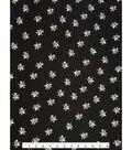 Knit Fabric 57\u0027\u0027-Metallic Ditsy Floral
