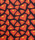 DC Comics Flannel Fabric 42\u0022-Superman
