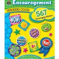 Teacher Created Resources 2 pk Sticker Books-Encouragement