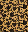 Home Decor 8\u0022x8\u0022 Fabric Swatch-Jaclyn Smith Dunbar-Jet