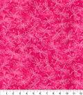 Keepsake Calico Cotton Fabric 44\u0022-Sundrenched Dragonfly Pink