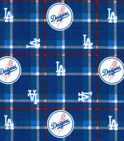 LA Dodgers Flannel Fabric-Plaid, , hi-res
