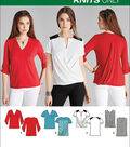 Simplicity Patterns Us1063U5-Simplicity Misses\u0027 Knit Tops-16-18-20-22-24