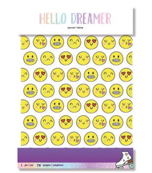American Crafts Hello Dreamer Planner Journal-Emoji