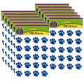 Teacher Created Resources Blue Paw Prints Stickers 12 Packs