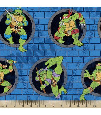 Teenage Mutant Ninja Turtles Print Fabric-Power Sewer Hole
