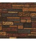 Bristol Taupe Brick Texture Wallpaper